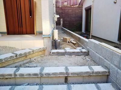 ヴァンベール友丘 外階段